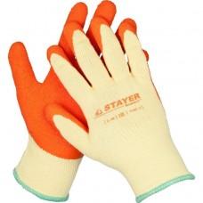 Перчатки Stayer Expert 11407-XL с рельефным латексным покрытием