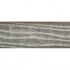 Плинтус шпонированный DL Profiles 015 Ясень Сильвер 2400х75х16 мм