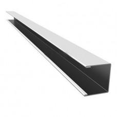 П-профиль алюминиевый Cesal 3306 белый матовый