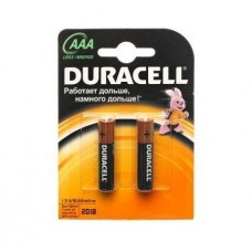 Батарейка алкалиновая Duracell Basic AAA LR03 Bl-2 2 шт