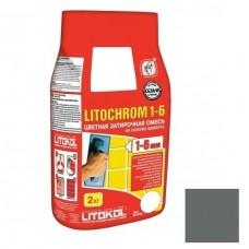 Затирка цементная для швов Litokol Litochrom 1-6 C.10 серая 2 кг