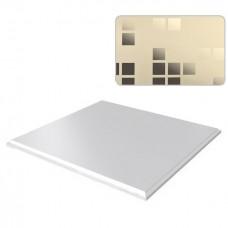 Потолок кассетный Cesal Мозаика золотая краска B38 300х300 мм