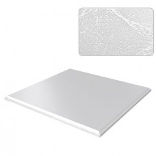 Потолок кассетный Cesal Standart Tegular K90 Шелк белый B29 595х595 мм