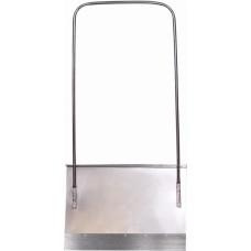 Движок оцинкованный 750х500 стальная накладка 2см