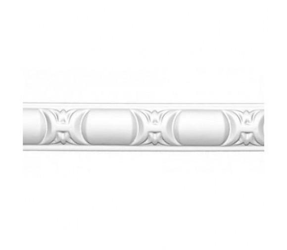 Молдинг полиуретановый Decomaster 98013 2400х25х10 мм