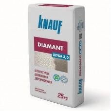 Knauf Диамант Шуба 3 мм белая 25 кг