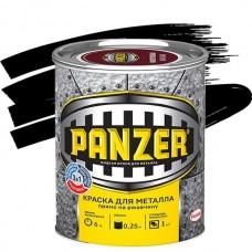 Panzer гладкая черная 0,25 л