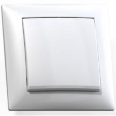 Выключатель Кунцево-Электро Селена С110-378 одноклавишный белый