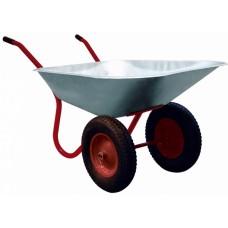 Тачка Политех садово-строительная 2-колёсная 85 л. комплект