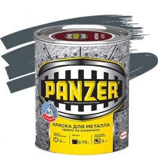 Panzer гладкая серая 0,75 л