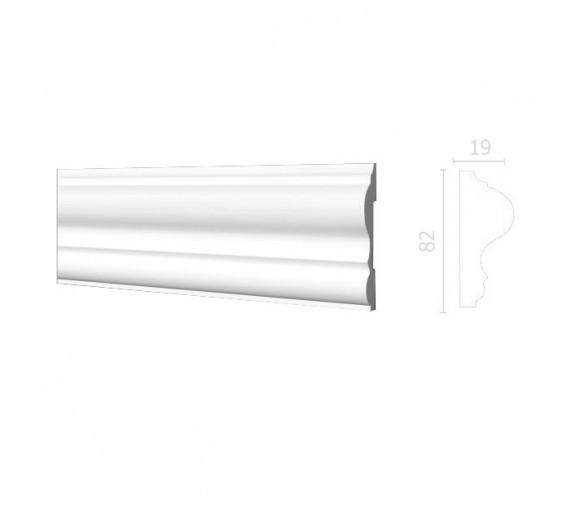 Молдинг из дюрополимера Decor-Dizayn DD606 2000х82х19 мм