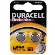 Батарейка алкалиновая Duracell Basic V13GA LR44 Bl-2 2 шт