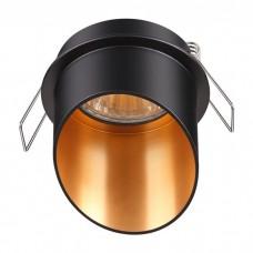 Светильник встраиваемый Novotech Butt 370435 NT19 216 черный 50W 220V