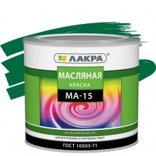 Лакра МА-15 зеленая 1,9 кг