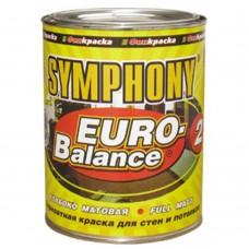 Symphony Euro-Balance 2 глубоко матовая 0,9 л металлическое ведро