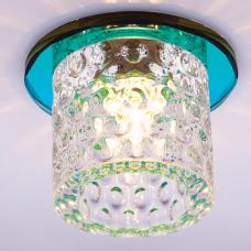 Светильник точечный встраиваемый Italmac Bohemia 220 12 72 G9 мультиколор 40 Вт