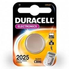 Батарейка литиевая Duracell CR2025 BL-1 1 шт