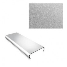 Потолок реечный Cesal S-150 Стандарт 3313 металлик серебристый 4 м