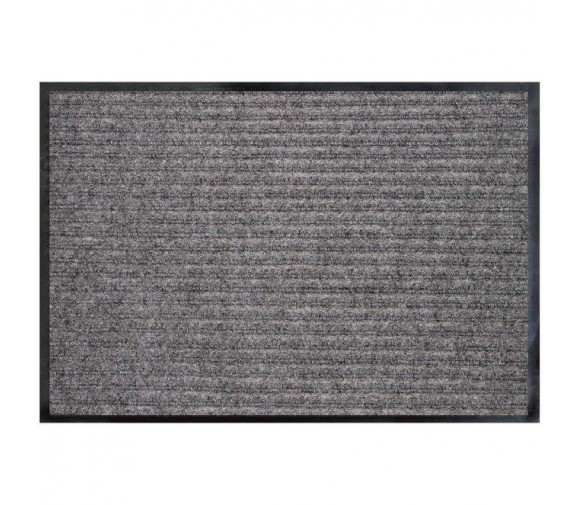 Коврик влаговпитывающий Double Stripe Doormat серый 600х900 мм