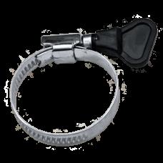 Хомут обжимной Fit 99364т 80-100 мм накатной с ключом