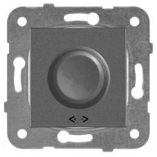 Механизм светорегулятора Panasonic Karre Plus WKTT05252DG-RES поворотный темно-серый 40-400W