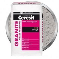 Наполнитель для декоративной штукатурки Ceresit CT 710 Visage Granite Aggregate Jamaica Brown 13 кг