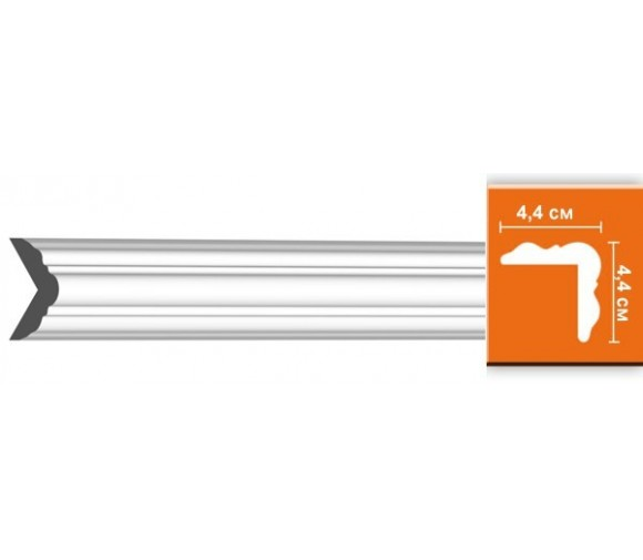 Молдинг полиуретановый Decomaster DP-333 2400х44х44 мм