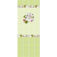 Кронапласт Unique Яблоневый цвет зелёный 2700х250 мм