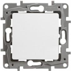 Механизм переключателя Legrand Etika 672209 одноклавишный белый