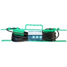 Удлинитель на рамке UR-1g-30m с 1 розеткой (б/з) 30м