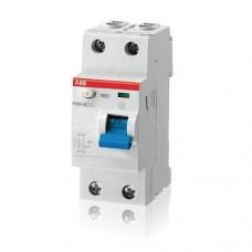 Выключатель автоматический дифференциального тока ABB F202 63A 30mA AC