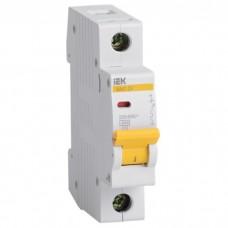 Автоматический выключатель IEK ВА47-29 MVA20-1-050-C 1P 50 A