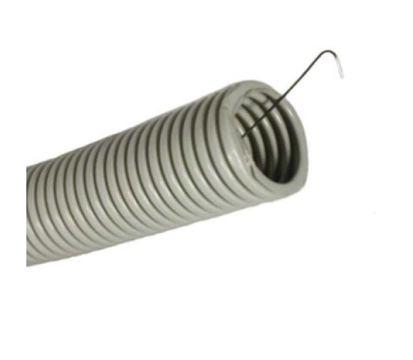 Труба ПВХ гофрированная тяжелая с протяжкой d20мм ДКС 91520