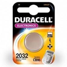 Батарейка литиевая Duracell CR2032 BL-1 1 шт