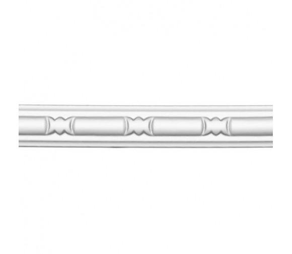 Молдинг полиуретановый Decomaster 98010 2400х22х10 мм
