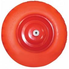 Колесо для 1-колёсной тачки бескамерное (3.25/3.00-8) втулка 12 mm - запасное (без подшипника)
