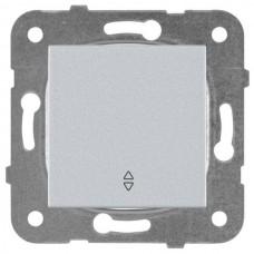 Механизм переключателя Panasonic Karre Plus WKTT00032SL-RES одноклавишный проходной серебро