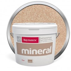 Штукатурка мраморная декоративная Bayramix Mineral 009 15 кг