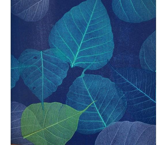 Обои натуральные Дизайн Тропик покрытие Листья PWF-59