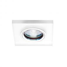 Светильник точечный встраиваемый Italmac Bohemia LED 51 6 75 MR16 с подсветкой молочно-белый 50 Вт
