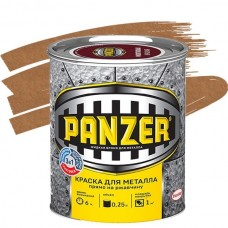 Panzer молотковая медная 0,25 л