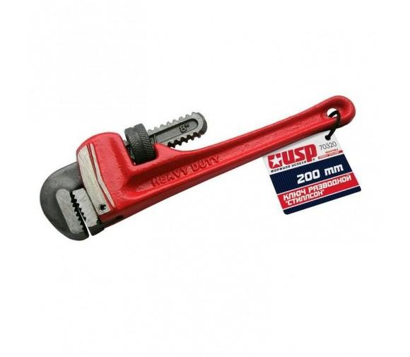Ключ разводной трубный USP Стиллсон Профи С023120 200 мм