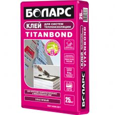 Боларс Titanbond 25 кг