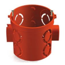 TDM SQ1402-1106 СП 68х62 мм углубленная красная