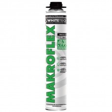 Пена монтажная Makroflex WhiteTeq белая Технология профессионаяльная 750 мл