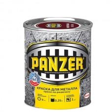 Краска для металла Panzer гладкая белая 0,25 л