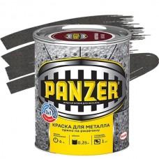 Panzer молотковая серая 0,25 л