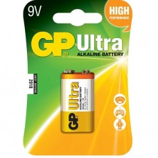 Батарейка алкалиновая GP Batteries Ultra Alkaline 1604AU 9V 1 шт.