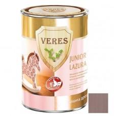 Veres Junior Lazura №18 серо-коричневая 0,25 л