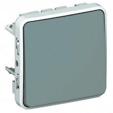 Механизм переключателя Legrand Plexo 069511 одноклавишный серый